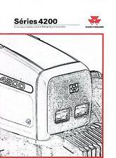 ▬►Brochure MASSEY FERGUSON MF 4200  Prospect Tracteur Tractor Traktor