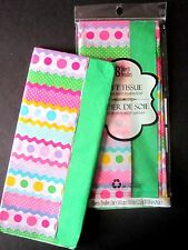 """QUALITY GIFT WRAPPING TISSUE PAPER EASTER DESIGNS 16 SHEETS 20""""x20"""" EACH SHEET"""