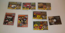 Mini CD-Rom Extreme 3D & PC Games - Most by X3D with 3D Glasses: Lot of 8 Games