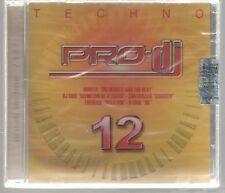 PRO DJ TECHNO vol. 12 CD F.C. SIGILLATO!!!