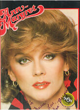 ANN MARGRET SUN CITY SOUTH AFRICA PROGRAMME WITH HAND-SIGNED AUTOGRAPH 1982 RARE