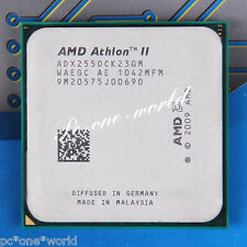 100% OK ADX255OCK23GQ AMD Athlon II X2 255 3.1 GHz Laptop Processor CPU AM3