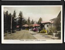 pk36241:Real Photo Color Postcard-Cabins,Jasper Park,Alberta