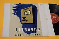 Ultravox LP Rage IN Eden 1° St Orig Italy 1981 EX+ *New*