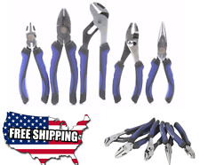 Kobalt 5 Piece Household Tool Set Joint Pliers Toolset Tools Kit Steel GRIP NEW