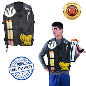 Nerf Rival Official NERF Tactical Vest Licensed, Medium Large Size Adjustable