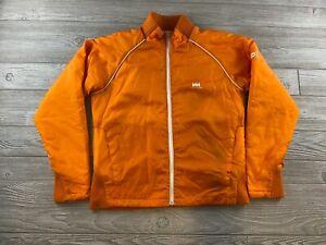 Helly Hansen Reversible Insulated Jacket Size Large Orange unisex Adult