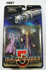 Babylon 5 Collector Series Ambassador Delenn Action Figure Flyer Vintage 1997