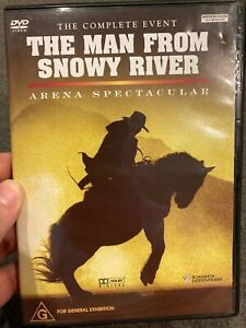 The Man From Snowy River Arena Spectacular region 4 DVD (2002 stage show event)