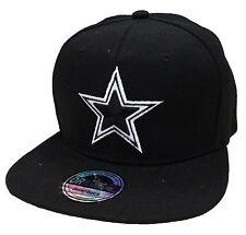SNAPBACK STAR STERN USA CAP KAPPE BASECAP MÜTZE HIP HOP TRUCKER CAPPY SCHWARZ