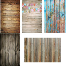 2x3ft Retro Wood Plank Photography Backdrop Studio Photo Background Art Props