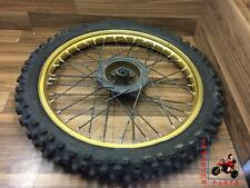ITALJET T3 350T TRIALS FRONT WHEEL GOLD RIM AKRONT 21 X 1.60
