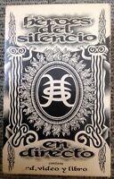 Héroes Del Silencio Caja en Directo 1993 Coleccion  Box Set - Excelente Inglés