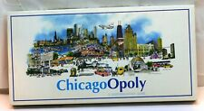 Vintage ChicagoOpoly Board Game a Nationalopoly Game City Investment Game Used