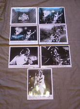 """Lot of Seven Led Zeppelin """"The Song Remains the Same"""" Movie Photos"""