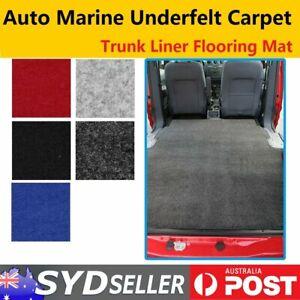 Car Carpet Auto Interior Acoustic Trunk Cargo Liner Boat Floor Underlay Replace