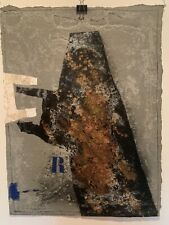 "Original Carborundum By James Coignard ""Riposte"""