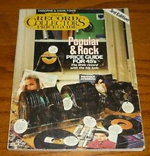 Popular and Rock Records Official Price Guide 3rd Edition, Jerry Osborne, 1981