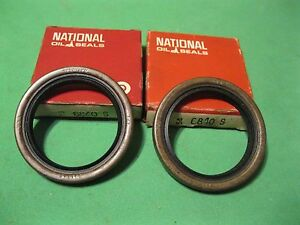New 1955-62 Mopar and Packard front oil seal set