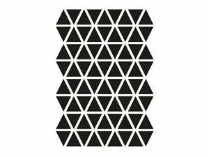 Ferm Living Triangles Sticker, Schwarz