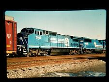 HJ18 ORIGINAL TRAIN SLIDE ENGINE CR CONRAIL 6167 UTICA NY 6755