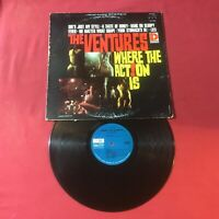 The Ventures - Where The Action Is  *1965:Dolton BST2040 1st Variation Label *VG