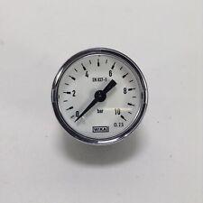 Wika 9380774 pressure gauge manometer G1/8 10bar EN 837-1 NEW NFP
