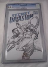Secret Invasion #5 (Oct 2008, Marvel) Sketch Cover Variant CGC Graded 9.6