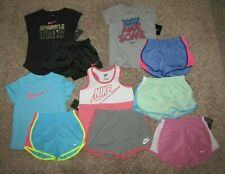 Nike Girls Set Lot Size 6X Shirt Shorts