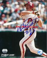 Mike Schmidt Phillies (MVP) Signed 8x10 Photo Autograph Reprint