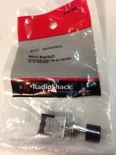 SPDT • Momentary Mini Switch #275-1549 By RadioShack