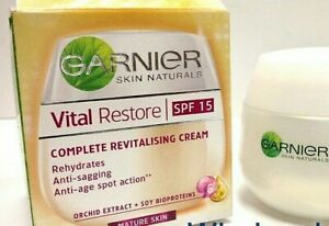 Garnier Vital Restore Complete Revitalising Cream SPF15 50ml