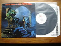 CIRITH UNGOL ONE FOOT IN HELL LP 1986 UK METAL BLADE RR9681 1ST A/B LYRIC INNER