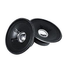 """3"""" inch 8Ohm 8Ω 5W 76mm Audio Speaker Stereo Full Range Bass Loudspeaker 2pcs"""