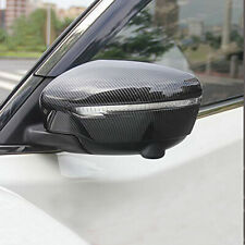 fits Qashqai X-Trail Rogue Murano Serena Carbon fiber Rearview Mirror Cover Trim