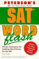 Sat Word Flash: The Quick Way to Build Verbal Power for the New Sat-And Beyond