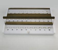 GIA Master Set 10CT DIAMOND Color Grading grader COLOR TESTER D-M color 10 stone