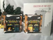 New Department 56 Christmas In The Cities Checker City Cab Co. 4044789