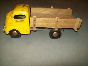 1950's? Smitty Toys Smith-Miller Calif. Wood Bed Toy Truck  Nice Condition