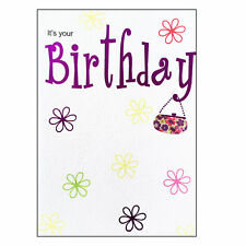 Birthday Card with Envelope - Lets Party Range - LP5006