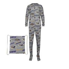 Baltimore Ravens NFL Grandstand Union Suit Pajamas Concepts Sport SZ XXL NEW