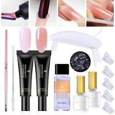 16Pcs/Set Born Pretty Extension Nail Gel Clear UV Building Gel Nail Dryer Lamp