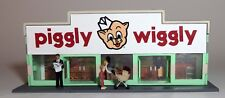 CUSTOM BUILT PIGGLY WIGGLY GROCERY STORE O scale On30 On3  SUPER MARKET