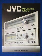 JVC JA-S77 JT-V77 JA-S55 JA-S44 JA-S22 JA-S11G SEA-50 Original  Brochure Catalog