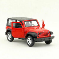 1:42 Jeep Wrangler SUV Model Car Diecast Gift Toy Vehicle Kids Red Collection