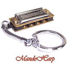 Lee Oskar Miniature Harmonica - LO4 Oskamonica 4-hole with Key Ring - NEW