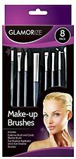 8 Pack Glamorize Make-up Cosmetic Brush Set,Blusher,For Comb,Eye Shadow,Eyebrow