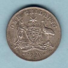 New listing Australia. 1920 Shilling. Much Lustre. gEf