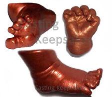 CHILD Bronzing Foot Hand CASTING KIT Molding Casting Toddler - Bronze
