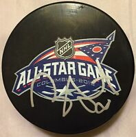 RYAN SUTER SIGNED 2015 ALL STAR GAME PUCK MINNESOTA WILD PREDATORS COA J1